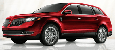 2013 Lincoln MKT ruby red