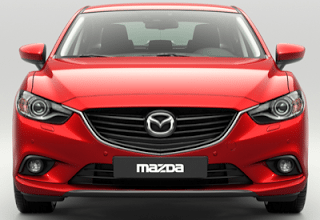 2013 Mazda 6 Red Front End