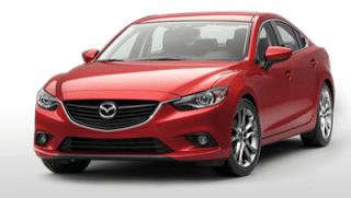 2013 Mazda 6 soul red