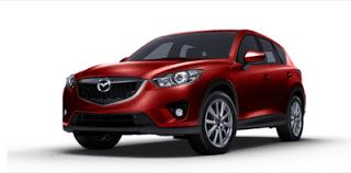 2013 Mazda CX-5 soul red