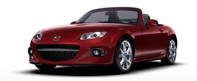 2013 Mazda MX-5 Miata red
