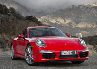 2013 Porsche 911 Carrera S Red
