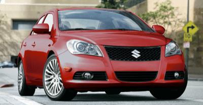 2013 Suzuki Kizashi Blaze Red