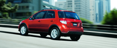 2013 Suzuki SX4 crossover red