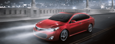 2013 Toyota Avalon XLE Touring Moulin Rouge