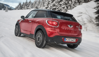 2014 Mini Paceman All4 Red rear view