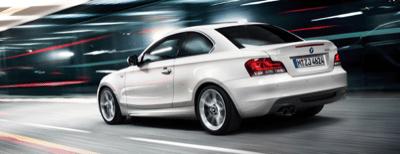 2013 BMW 1-Series coupe white