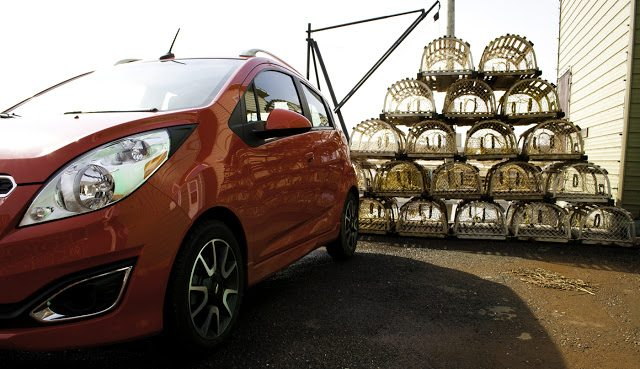 2013 Chevrolet Spark French River, PEI lobster traps