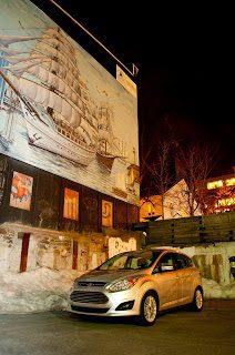 2013 Ford C-Max Hybrid SEL Tall Ships Mural Barrington Street