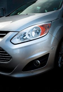 2013 Ford C-Max Hybrid front angle