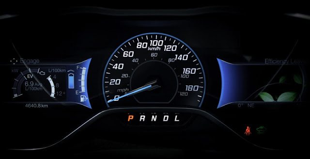 2013 Ford C-Max gauge cluster Engage