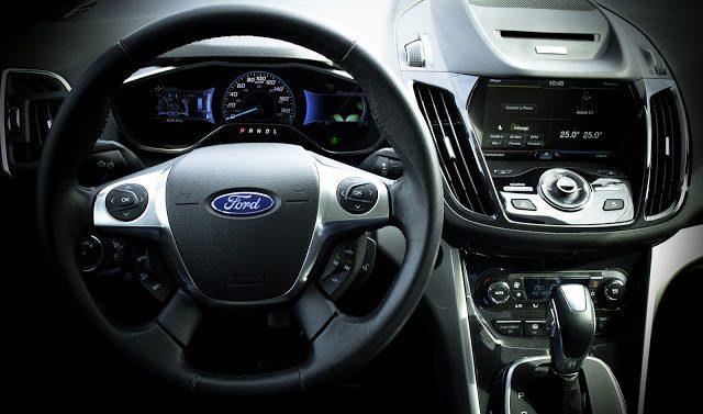 2013 Ford C-Max Hybrid SEL Interior