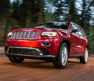 2013 Jeep Grand Cherokee Red