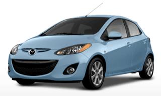 2013 Mazda 2 blue