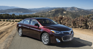 2013 Toyota Avalon red