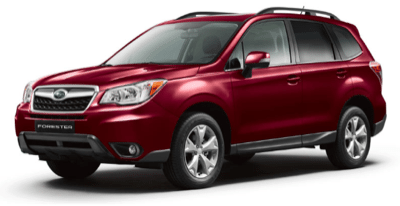2014 Subaru Forester 2.5i Limited Red