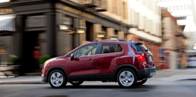 2013 Chevrolet Trax red