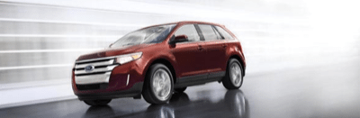 2013 Ford Edge Red