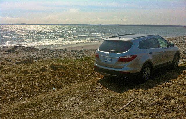 2013 Hyundai Santa Fe XL rear view Nova Scotia bech