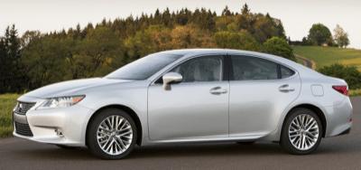 2013 Lexus ES350 silver
