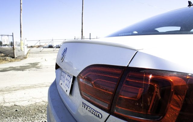 2013 Volkswagen Jetta Turbo Hybrid Rear Lip Spoiler