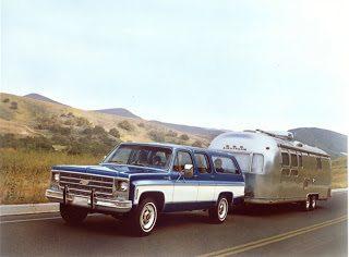 1976 Chevrolet Suburban Airstream