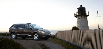 2013 Buick Enclave brown