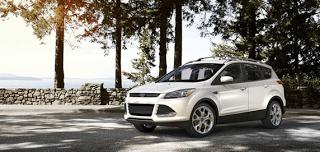 2013 Ford Escape Titanium White