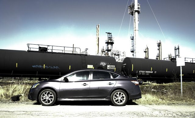 2013 Nissan Sentra SR Imperial Oil Refinery