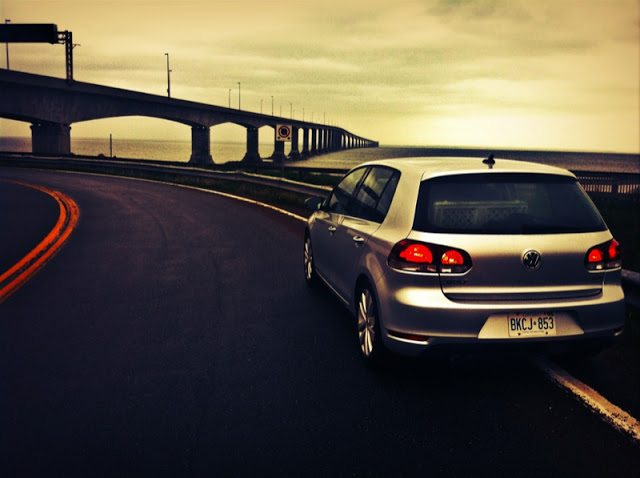 2013 Volkswagen Golf TDI Wolfsburg Confederation Bridge