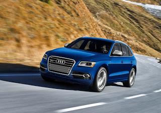 2014 Audi SQ5 3.0 TFSI blue