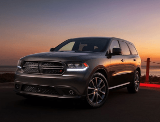 2014 Dodge Durango grey sunset