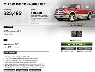 Ram Trucks Canada advertising Canada