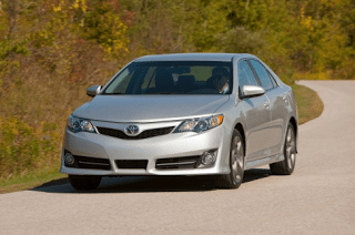 2012 Toyota Camry SE silver