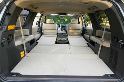 2012 Toyota Sequoia cargo area