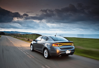 2013 Dodge Dart grey storm clouds