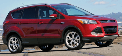 2013 Ford Escape red