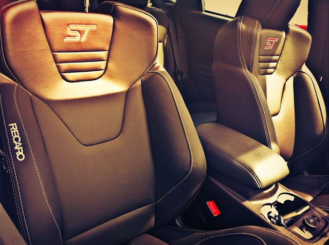 2013 Ford Focus ST Recaro seats