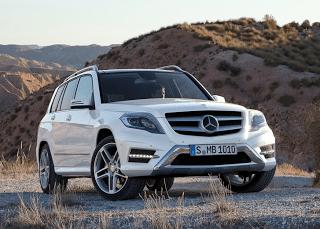 2013 Mercedes-Benz GLK-Class white