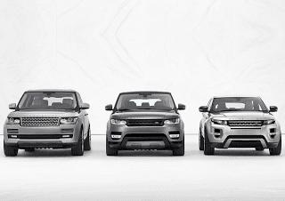 2014 Range Rover lineup