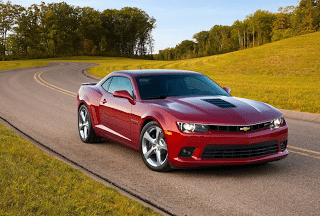 2014 Chevrolet Camaro SS red