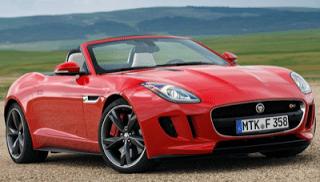 2014 Jaguar F-Type V8S red