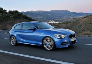 2013 BMW M135i blue