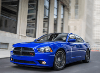 2013 Dodge Charger Daytona blue