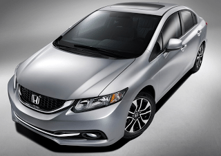 2013 Honda Civic silver