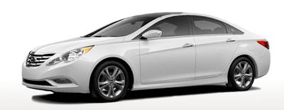 2013 Hyundai Sonata GL white