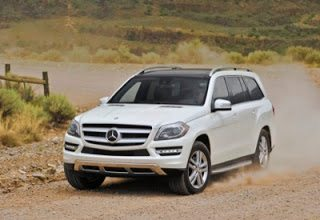2013 Mercedes-Benz GL350 white