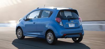 2013 Chevrolet Spark blue