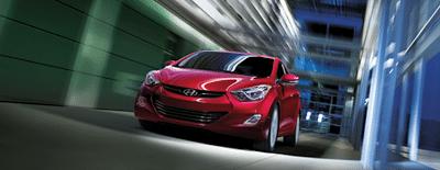 2013 Hyundai Elantra sedan red