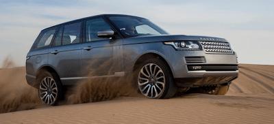 2013 Land Rover Range Rover grey off-road